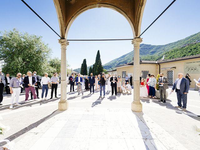 Il matrimonio di Francesco e Miriam a Roè Volciano, Brescia 17