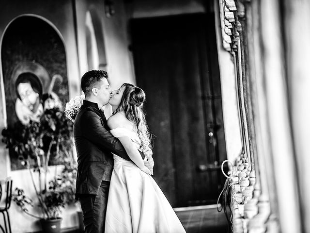 Il matrimonio di Francesco e Miriam a Roè Volciano, Brescia 25