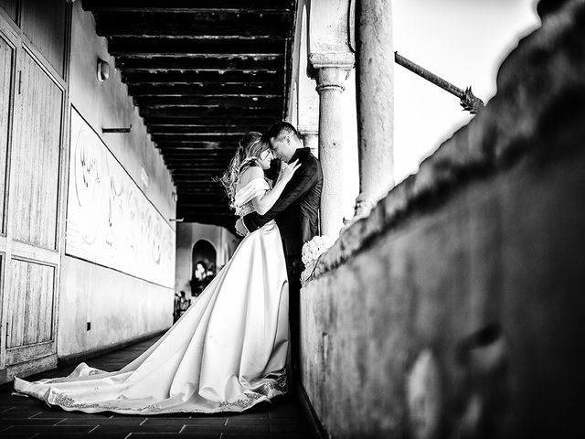 Il matrimonio di Francesco e Miriam a Roè Volciano, Brescia 28