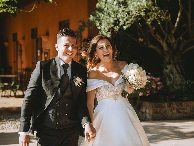 Il matrimonio di Francesco e Miriam a Roè Volciano, Brescia 31