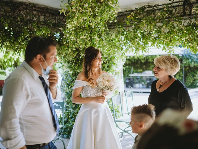 Il matrimonio di Francesco e Miriam a Roè Volciano, Brescia 36