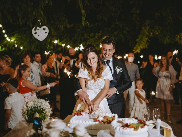 Il matrimonio di Francesco e Miriam a Roè Volciano, Brescia 44