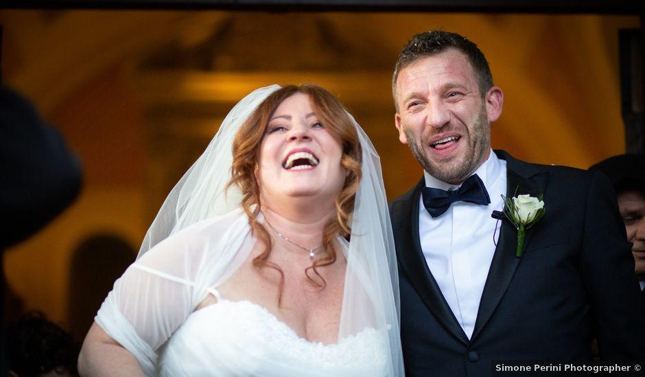 Il matrimonio di Daniele e Patrizia a Fucecchio, Firenze