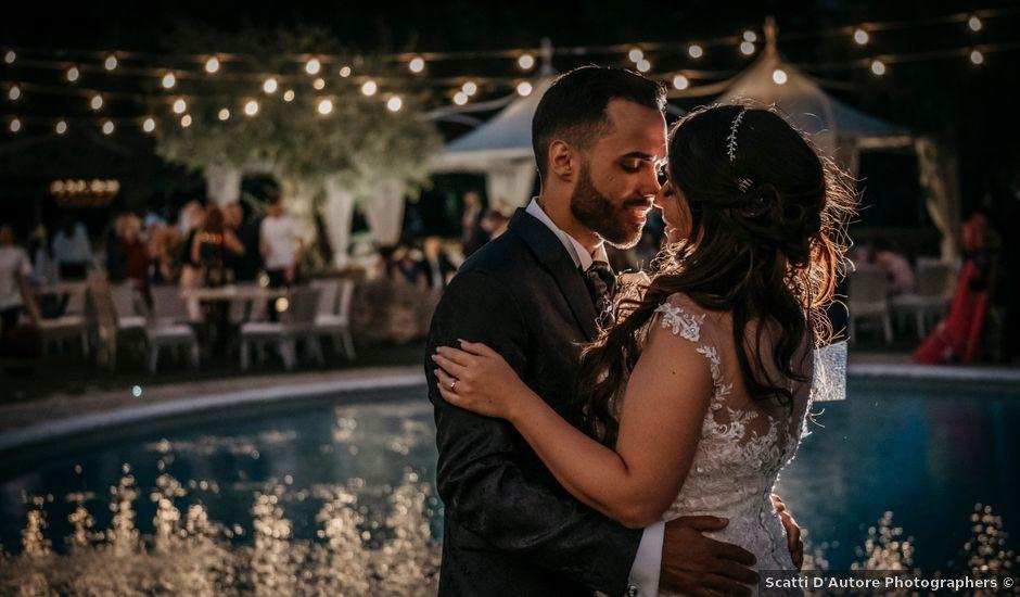 Il matrimonio di Patrich e Denise a Frascati, Roma