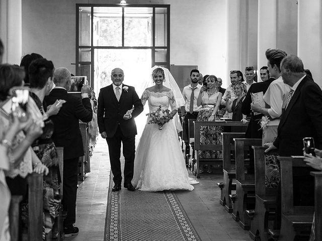 Il matrimonio di Elio e Giulia a Marlia, Lucca 25