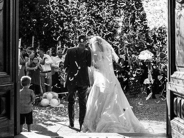 Il matrimonio di Elio e Giulia a Marlia, Lucca 33