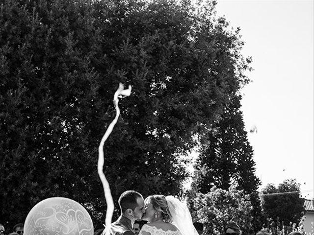 Il matrimonio di Elio e Giulia a Marlia, Lucca 35