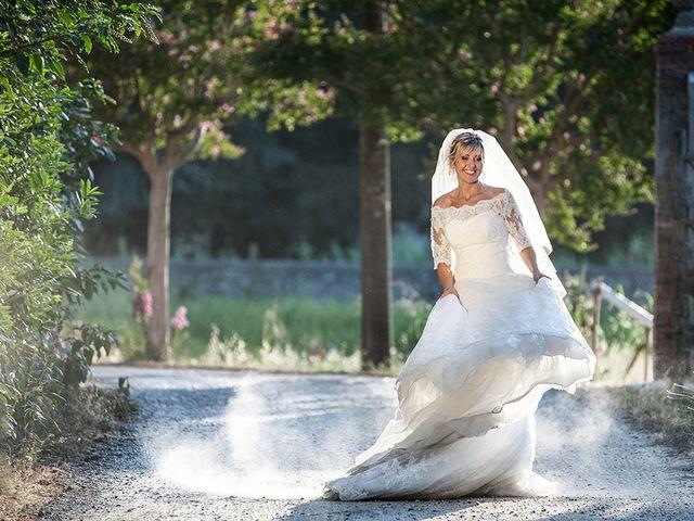 Il matrimonio di Elio e Giulia a Marlia, Lucca 47