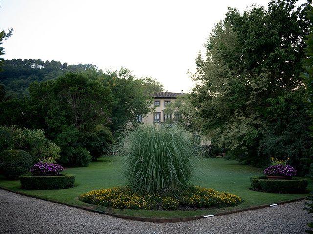 Il matrimonio di Elio e Giulia a Marlia, Lucca 49