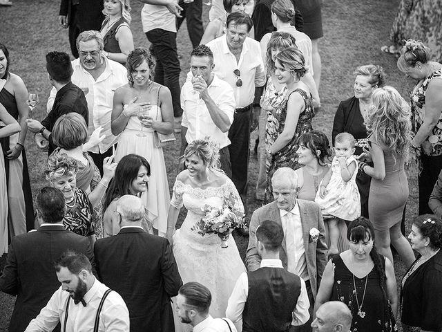 Il matrimonio di Elio e Giulia a Marlia, Lucca 61