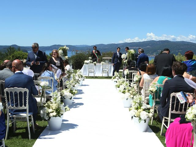 Il matrimonio di Marco e Francesca a Besozzo, Varese 8