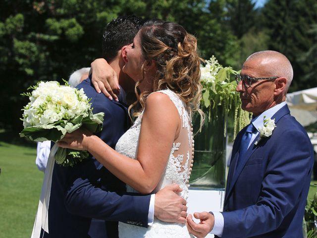 Il matrimonio di Marco e Francesca a Besozzo, Varese 9