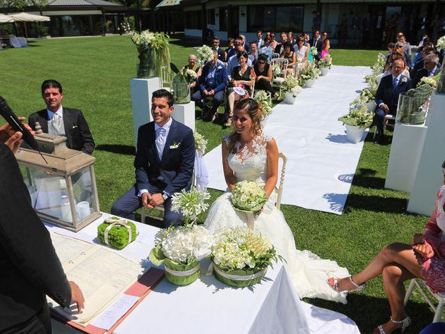 Il matrimonio di Marco e Francesca a Besozzo, Varese 10