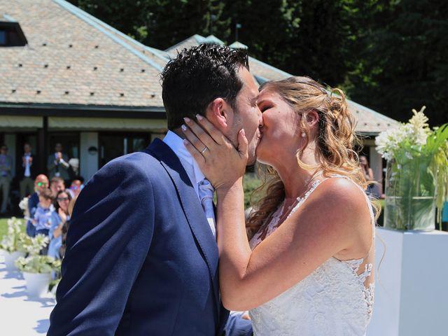 Il matrimonio di Marco e Francesca a Besozzo, Varese 11