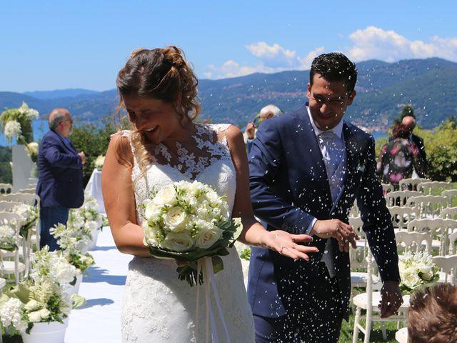 Il matrimonio di Marco e Francesca a Besozzo, Varese 12