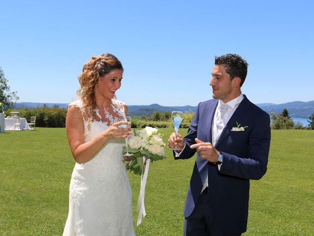 Il matrimonio di Marco e Francesca a Besozzo, Varese 13