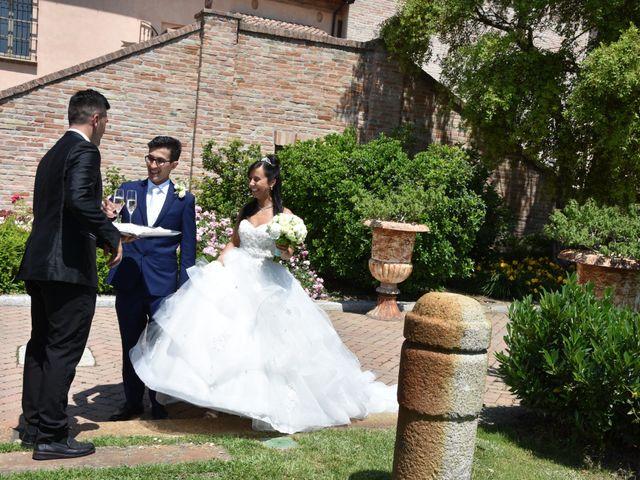 Il matrimonio di Matteo e Isabella a Fiorenzuola d'Arda, Piacenza 21