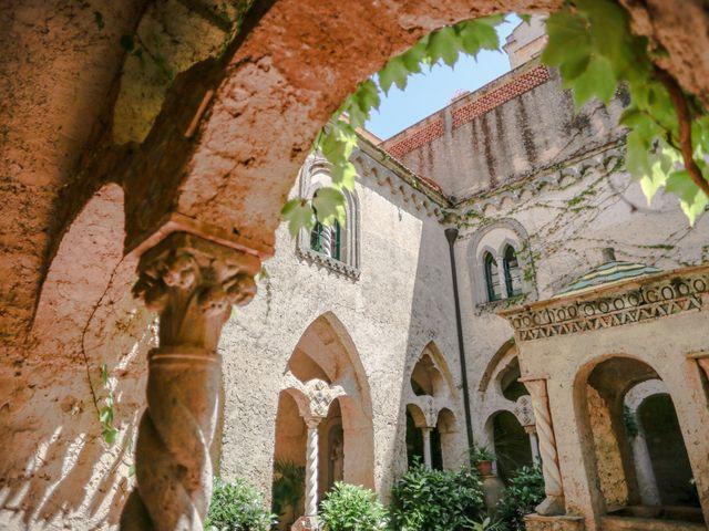 Il matrimonio di Estevan e Aurora a Ravello, Salerno 10