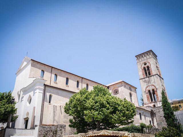 Il matrimonio di Estevan e Aurora a Ravello, Salerno 49