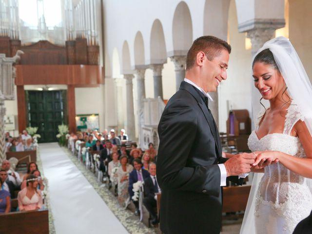 Il matrimonio di Estevan e Aurora a Ravello, Salerno 59