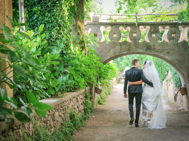 Il matrimonio di Estevan e Aurora a Ravello, Salerno 74