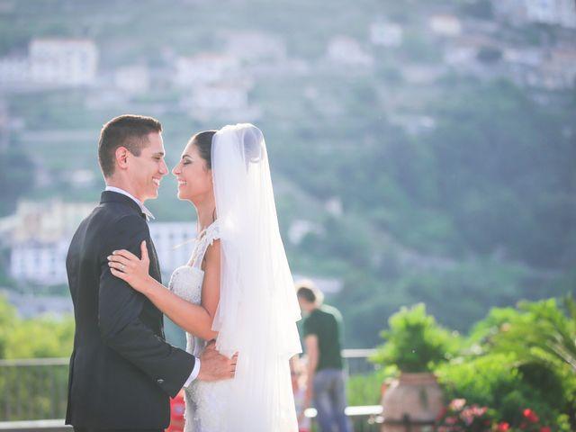 Il matrimonio di Estevan e Aurora a Ravello, Salerno 75