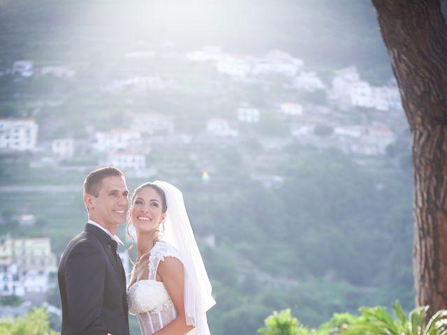 Il matrimonio di Estevan e Aurora a Ravello, Salerno 77