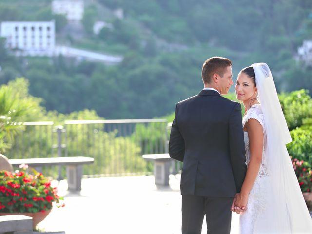 Il matrimonio di Estevan e Aurora a Ravello, Salerno 79