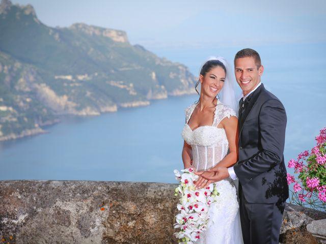 Il matrimonio di Estevan e Aurora a Ravello, Salerno 81