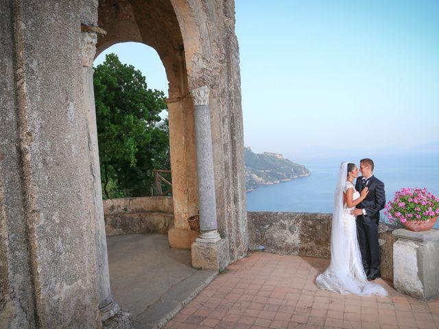 Il matrimonio di Estevan e Aurora a Ravello, Salerno 82