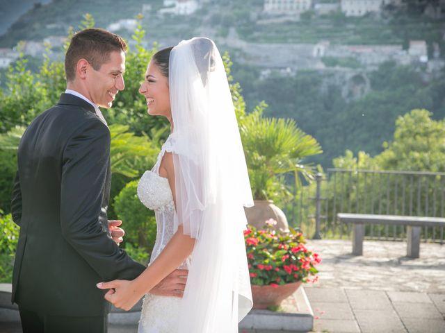 Il matrimonio di Estevan e Aurora a Ravello, Salerno 83