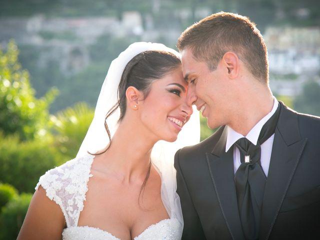 Il matrimonio di Estevan e Aurora a Ravello, Salerno 85