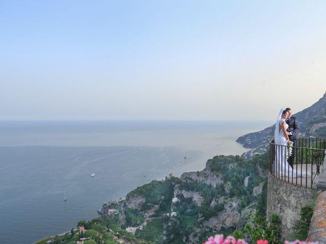 Il matrimonio di Estevan e Aurora a Ravello, Salerno 86