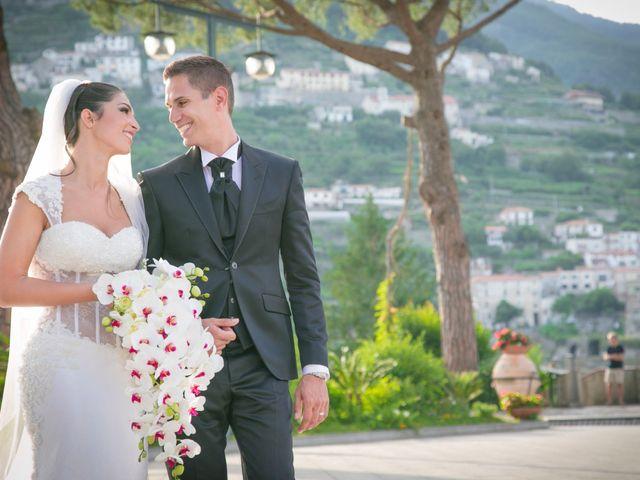 Il matrimonio di Estevan e Aurora a Ravello, Salerno 87