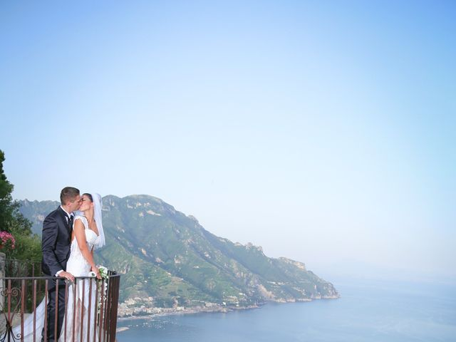Il matrimonio di Estevan e Aurora a Ravello, Salerno 88