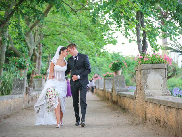 Il matrimonio di Estevan e Aurora a Ravello, Salerno 89