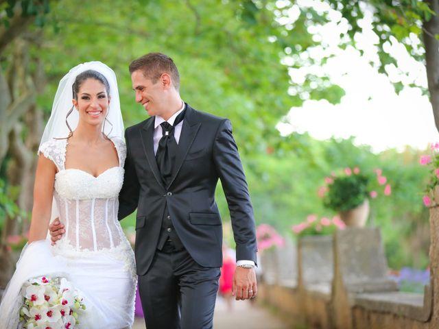 Il matrimonio di Estevan e Aurora a Ravello, Salerno 90