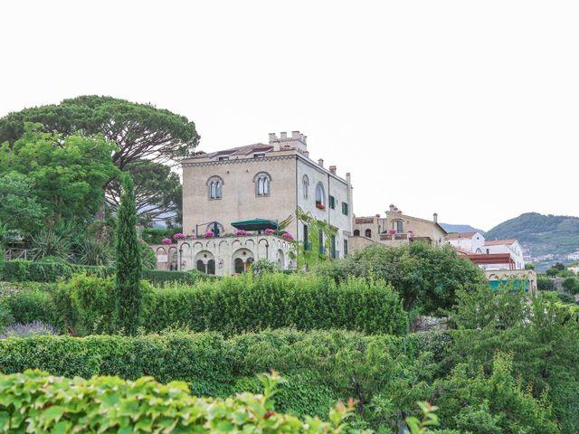 Il matrimonio di Estevan e Aurora a Ravello, Salerno 92