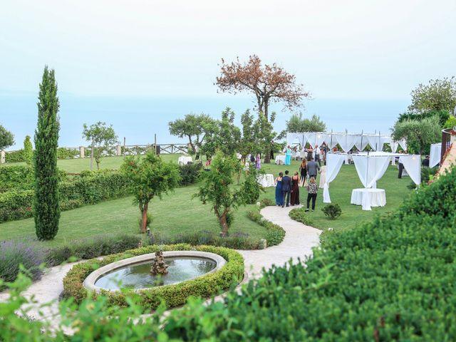 Il matrimonio di Estevan e Aurora a Ravello, Salerno 93