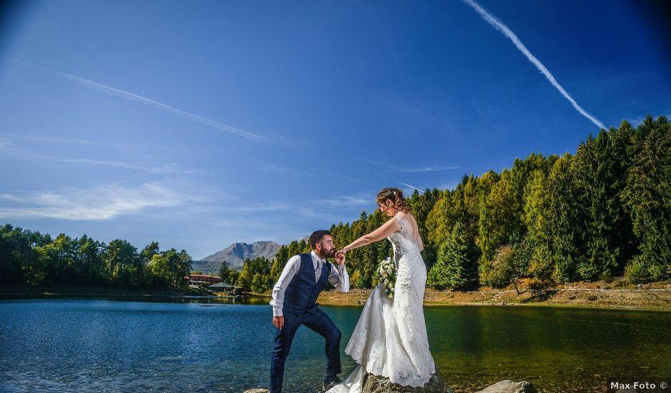 Il matrimonio di Roberto e Carola a Brosso, Torino