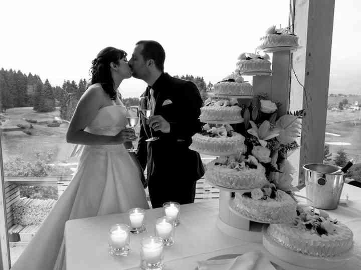 Le nozze di Alessia e Thomas