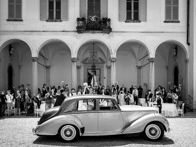 Il matrimonio di Matteo e Sara a Pavia, Pavia 50