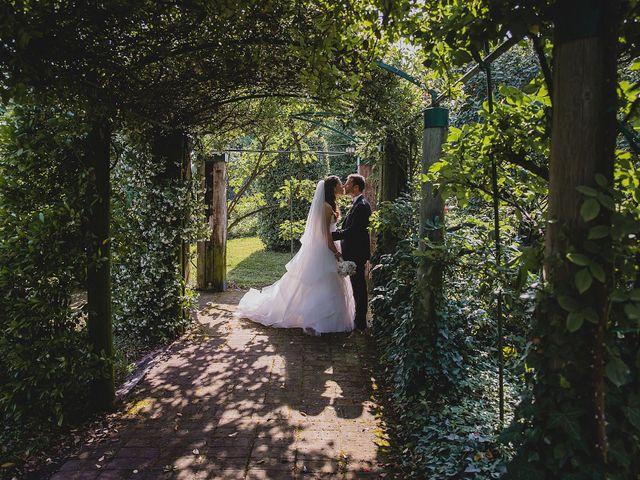 le nozze di Claudia e Cristian