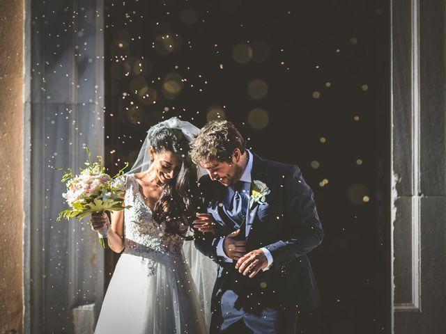 Le nozze di Serena e Cristiano