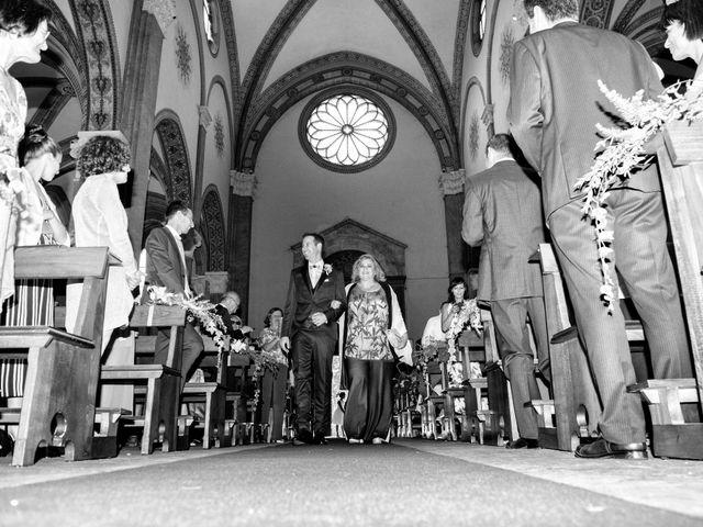Il matrimonio di Riccardo e Diana a Verderio Superiore, Lecco 40