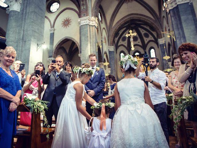 Il matrimonio di Riccardo e Diana a Verderio Superiore, Lecco 45