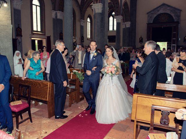 Il matrimonio di Riccardo e Diana a Verderio Superiore, Lecco 46