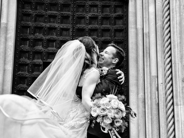 Il matrimonio di Riccardo e Diana a Verderio Superiore, Lecco 62