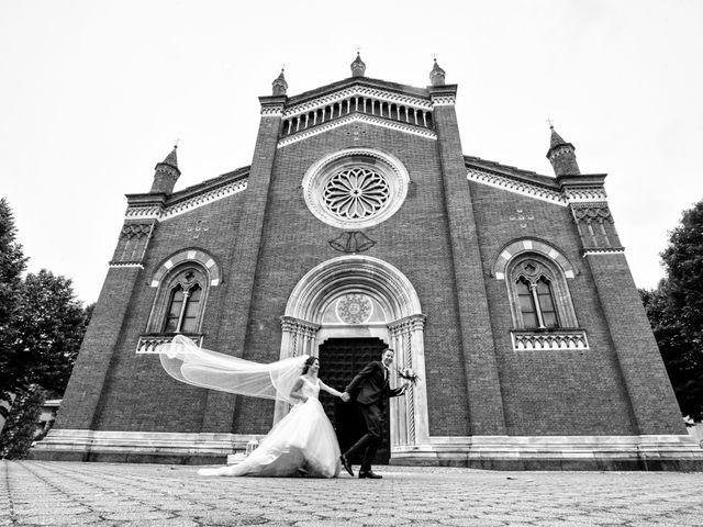 Il matrimonio di Riccardo e Diana a Verderio Superiore, Lecco 66