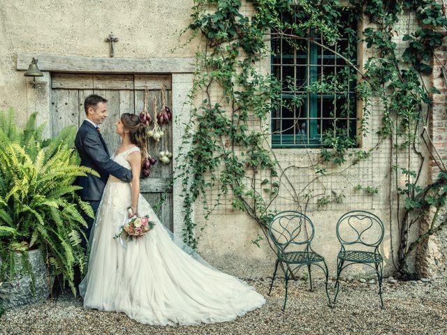 Il matrimonio di Riccardo e Diana a Verderio Superiore, Lecco 73